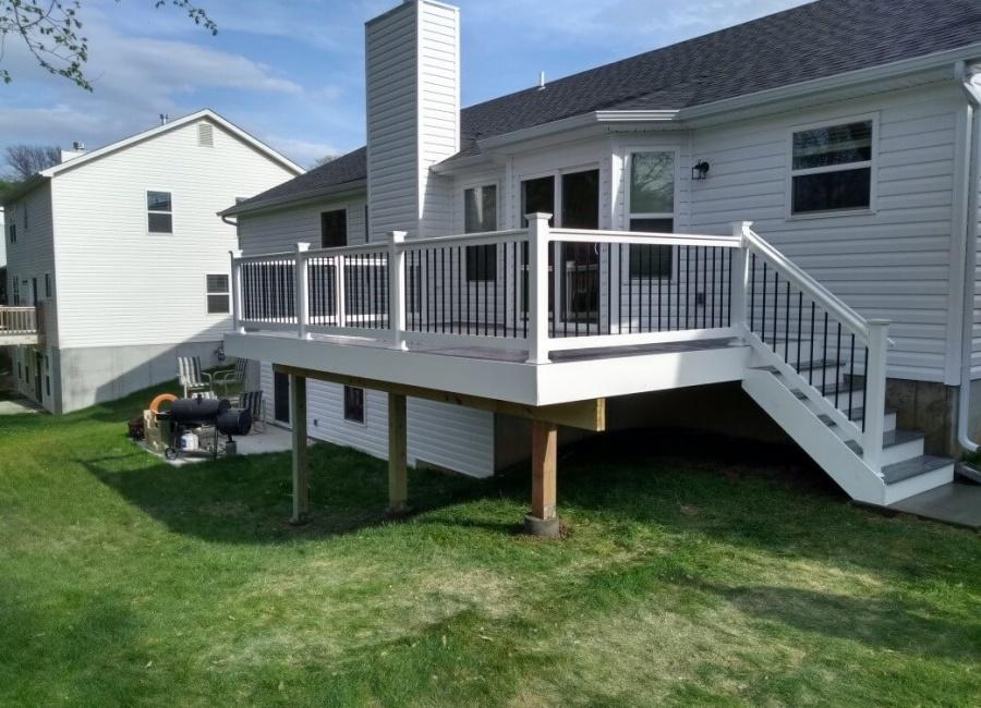 Outdoor Deck Construction