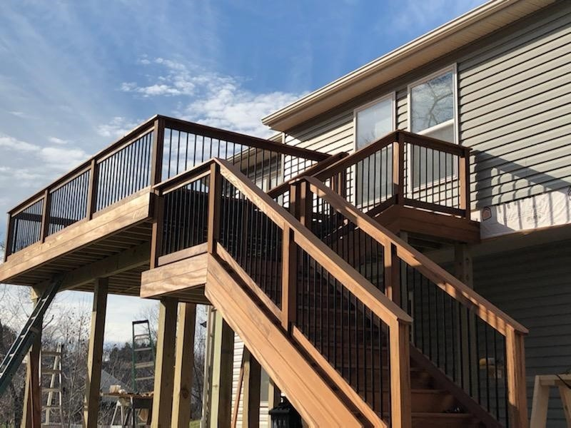 Wood Deck Remodeling